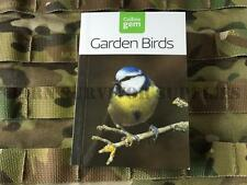 GARDEN BIRDS GUIDE - New Collins Gem Bushcraft Pocket Bird Watching Watcher Book
