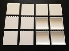 BRAND NEW LEGO LOT of 12 - 1x6x5 WHITE WALL Panel Elememt Star Wars Creator
