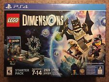 LEGO Dimensions: PS4 Starter Pack - Batman Gandalf Wyldstyle Batmobile Portal
