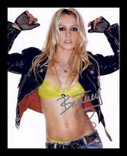 BRITNEY SPEARS AUTOGRAPHED SIGNED & FRAMED PP POSTER PHOTO