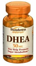 Sundown Naturals DHEA 50 mg Tablets 60 Tablets (Pack of 3)