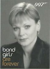 "James Bond In Motion - BG71 ""Samantha Bond"" Bond Girls Chase Card"