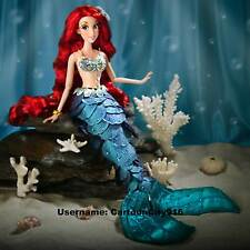 "Disney Store The Little Mermaid Ariel Limited Edition 17"" Doll"