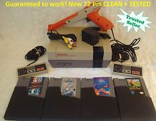 Nintendo NES Console System Bundle NEW PINS Games Super Mario Tetris Golf