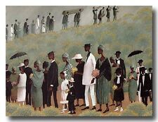 AFRICAN AMERICAN ART & PRINTS-Funeral Procession (20 x 16 New Unframed)