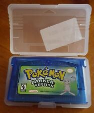 Pokemon Dark Cry Version Nintendo gameboy advance gba