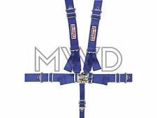G-Force Blue Pro Series 5 Point Shoulder Harness Racing Seat Belts SFI 16.1