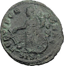 Galerius Veiled DIVO  311AD HUGE Ancient Roman Coin Fortuna Very rare i32393