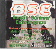 Banging Summer Extravaganza, cd: Manics, furrys, Travis