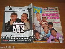 TV SORRISI E CANZONI=2009/48=GIGI D'ALESSIO=RUSSELL CROWE=CHECCO ZALONE=
