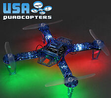Diatone 250mm Quadcopter Frame with LEDs, PDB, 5v UBEC (Blue)
