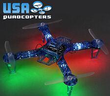 Diatone 250mm Quadcopter Frame with LEDs, PDB, 5v UBEC (Blue)