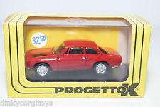 PROGETTO K 091 ALFA ROMEO GIULIA GTV STRADALE RED MINT BOXED