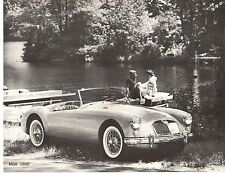 1960 MGA 1600 Original Sales Sheet with Specifications - new from Dealer Shelves