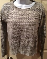 SPARROW Anthropologie Wool Cashmere Mohair Blend Pullover Sweater  EUC Size S