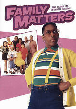 Family Matters: The Complete Seventh Season (DVD, 2016, 3-Disc Set)