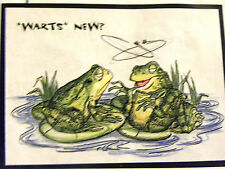 WARTS NEW Cling mounted Retired  L@@K@photo art impressions rubber stamps