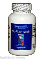 Allergy Research Group No Flush Niacin 430 mg 75 caps - Exp Date: 06/2018
