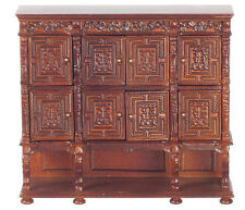 Dolls House  Furniture    Carved Tudor Court cabinet   DHD56023wn