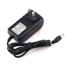 AC 100-240V Converter Adapter DC 9V 2A 2000mA Charger Power Supply US Plug
