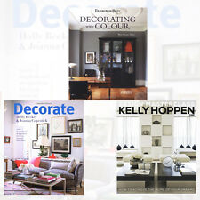 Decorate, Kelly Hoppen Design Masterclass and Farrow & Ball 2 Books Collection