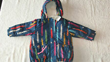 Next 3-6 months Girls COAT *BNWT* New Bright Fleece Lined Baby Crayon Winter
