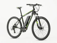 GREENWAY electric mountain bike, PANASONIC battery LCD, PAS system, MID MOTOR