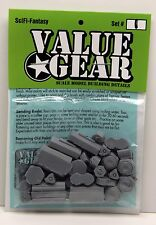 SciFi Supplies #1 War Game 28mm 1/48-1/56 Scale - ValueGear 27 resin pcs