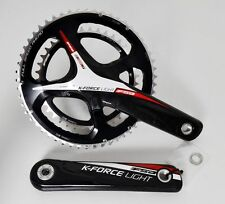 FSA K-FORCE LIGHT CARBON CRANK SET CRANKSET 170 53/39 11SPEED 386 EVO BB386 RED