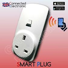 SMART Power Socket UK SPINA DOMOTICA WIRELESS ALLARME RFID GSM WIFI 433 MHZ