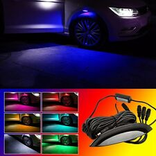 Universal Car Fender Wheel Eyebrow LED Light Tire Light Multi-Color Flash Lamp