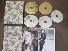 CELINE DION Ultimate Box JAPAN-ONLY 2CD+3 DVD BOX w/OBI+2 BOOKLETS EICP-931~5