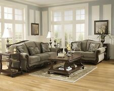 "Ashley ""Martinsburg"" Sofa and Loveseat Meadow Classic Furniture 57300"