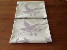 Laura Ashley  Farleigh Amethyst  Table Runner. Fully Lined. New! STUNNING!