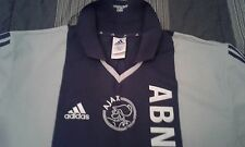 MAGLIA SHIRT VINTAGE OFFICIAL AJAX AMSTERDAM ADIDAS RARE COLLECTION
