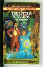 TEN LITTLE WIZARDS by Kurland, Ace Lord Darcy fantasy crime pulp vintage pb