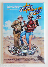 Smokey and the Bandit Part 2 FRIDGE MAGNET (2 x 3 inches) movie poster