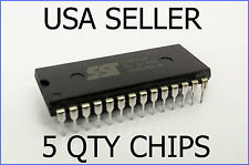 5 x NEW REAL SST 27SF512 EEPROM REBURNABLE ECU PCM CHIPS NEPTUNE CROME TUNING