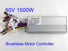 60V 1500W Electric Bicycle Brushless Speed Motor Controller For E-bike & Scooter