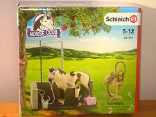NEW Schleich Pony Horse Club 42104 Wash Groom Area Set for Stable all items inc