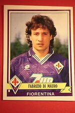 Panini calciatori 1992/93 1992 1993 113 FIORENTINA DI MAURO CON VELINA