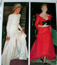 Princess Diana Fergie Royal Style Wars HC book updated 1990 edition 200+ photos