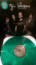 GIN BLOSSOMS Live in Concert Green Vinyl HEY JEALOUSY ROCKET MAN LONG TIME GONE