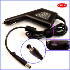 Laptop Car DC Adapter Charger + USB for HP/Compaq 391173-001 384021-001