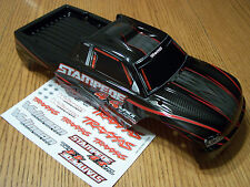 NEW 6708 Traxxas 4x4 Brushless VXL Stampede Black Red Body / Fits 2wd