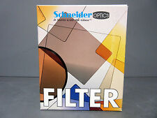 New Schneider Optics 4x5.65 Solid Tobacco 2 Filter Tiffen Filters Panavision PV