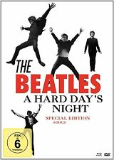THE BEATLES: A HARD DAY'S NIGHT, Special Edition (Blu-ray Disc + 3 DVDs) NEU+OVP