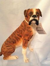"""Country Artists Dogs  Boxer Sitting  Best in Show 4.25""""  Resin CA03355  $18.50"""