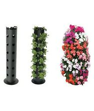 Flower Tower Freestanding Vertical Planter Stand Patio Garden Porch Landscape
