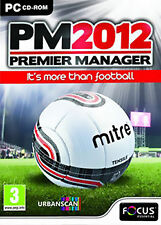 Premier Manager 2012 GAME NEW